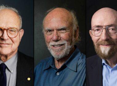 علماء فيزياء, جائزة نوبل, جائزة نوبل للفيزياء 2017, كيب ثورن, باري باريش, رينر وييس, باحثين