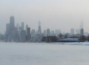 عاصفة جليدية, شيكاغو, دوامات قطبية, طقس, موجات برد