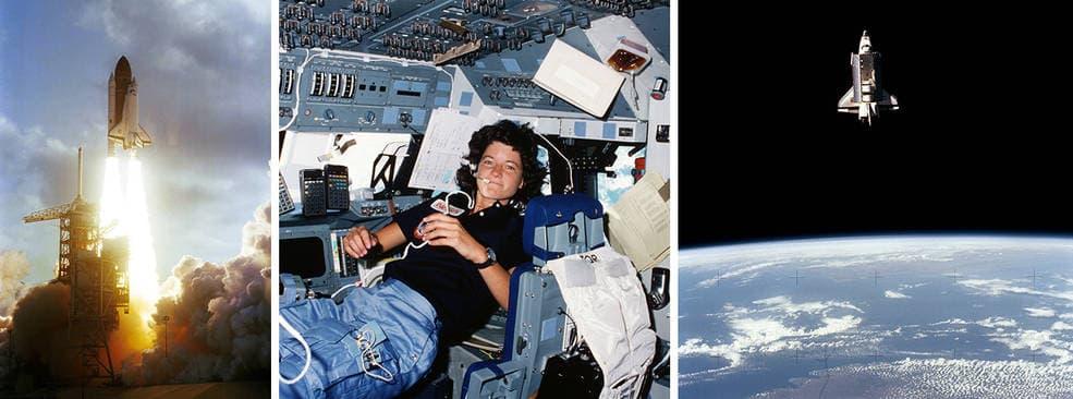 سالي رايد - النساء في الفضاء