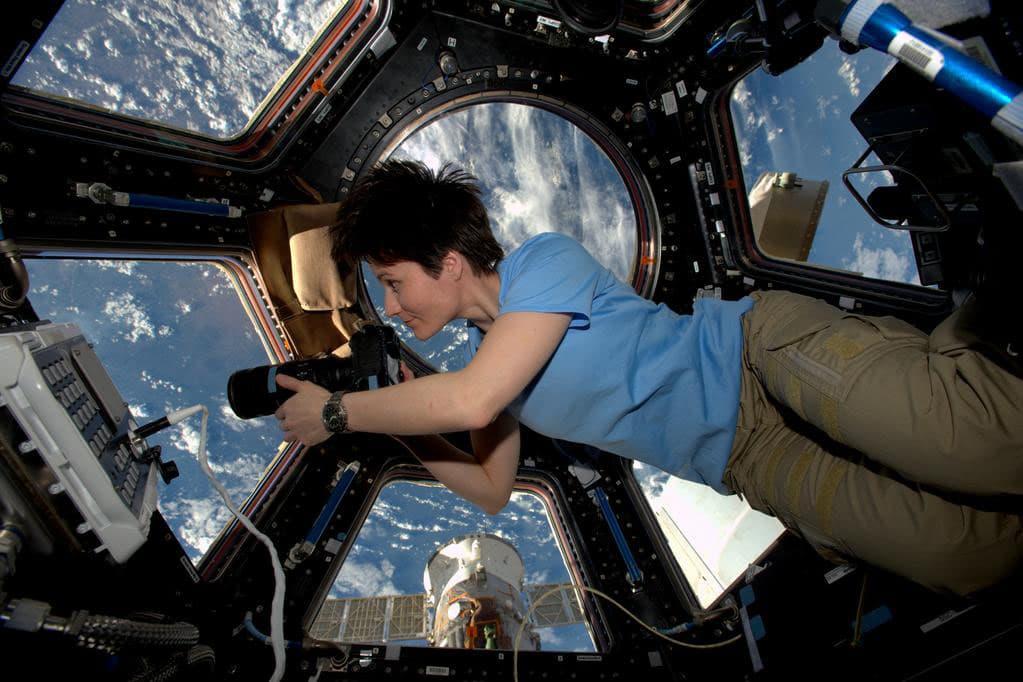 النساء في الفضاء - credit to Nasa blogs
